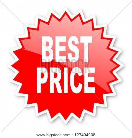 best price red tag, sticker, label, star, stamp, banner, advertising, badge, emblem, web icon