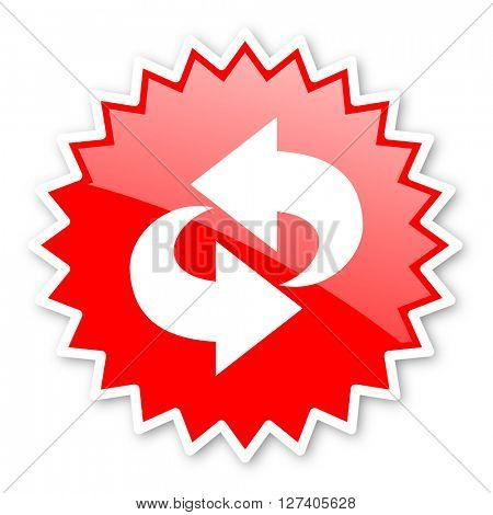 rotation red tag, sticker, label, star, stamp, banner, advertising, badge, emblem, web icon