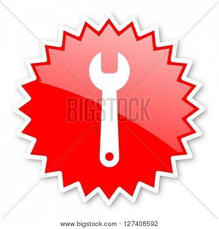 tool red tag, sticker, label, star, stamp, banner, advertising, badge, emblem, web icon