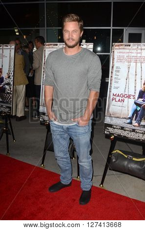 LOS ANGELES - APR 25:  Travis Fimmel at the Maggie's Plan Los Angeles Special Presentation at the ArcLight Hollywood Theaters on April 25, 2016 in Los Angeles, CA