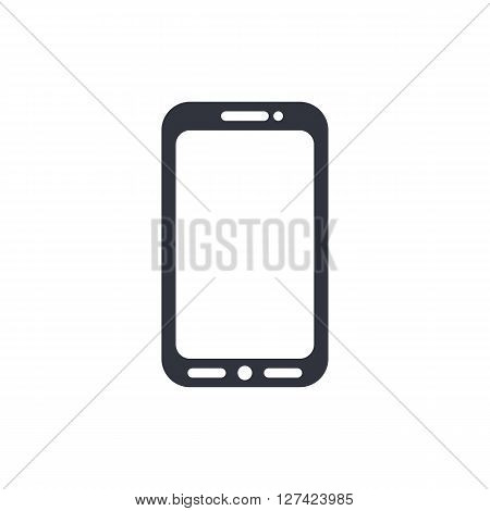 Cellphone Icon In Vector Format. Premium Quality Cellphone Symbol. Web Graphic Cellphone Sign On Whi