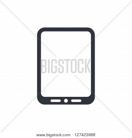 Tablet Icon In Vector Format. Premium Quality Tablet Symbol. Web Graphic Tablet Sign On White Backgr
