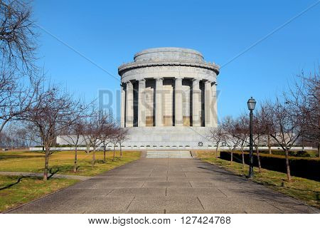George Rogers Clark National Historical Park in Vincennes,Indiana