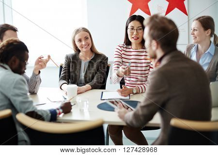 Interaction of business partners