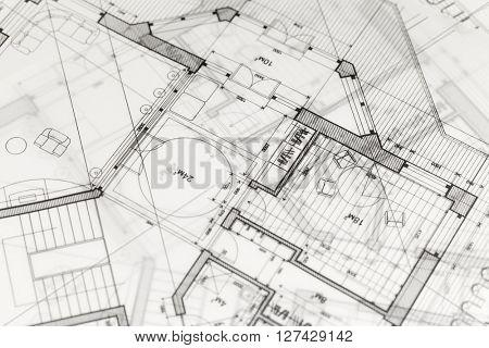 architecture blueprints & house plans