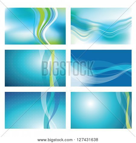 Modern blue backgrounds - graphic elements
