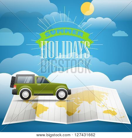 Vacation concept. Summer holidays