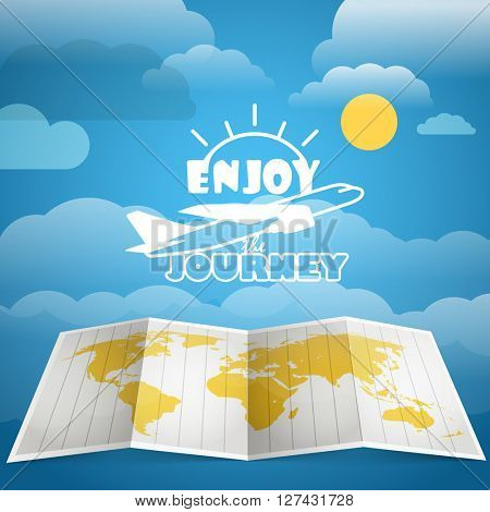 Vacation concept. Injoy a journey