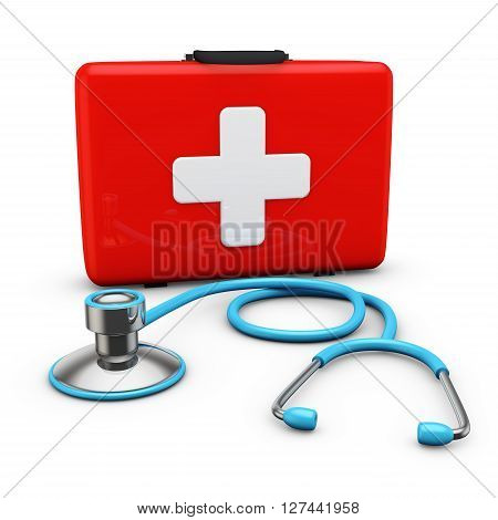 Stethoscope And Suitcase
