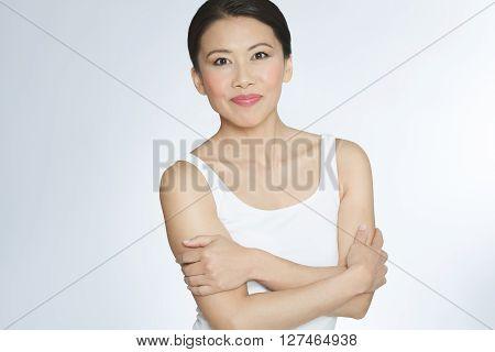 Active Asian Woman
