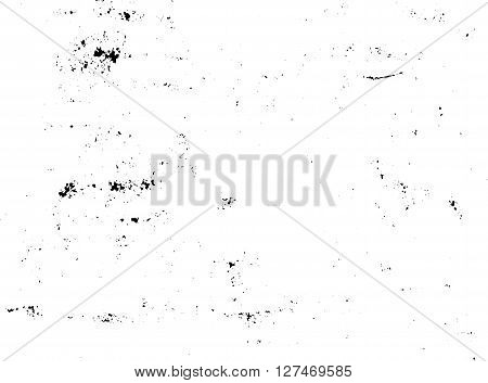 Dust Grunge effect vector for use in graphic resource such as black chalk board or chalk dust effect