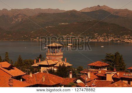 Italien Piemont Lago Maggiore