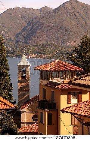 Europe Italy Lago Maggiore