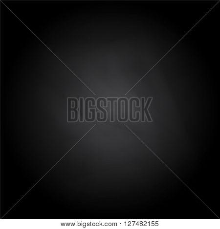 Black board with eraser dust effect background