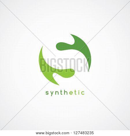S letter logotype theme vector art illustration
