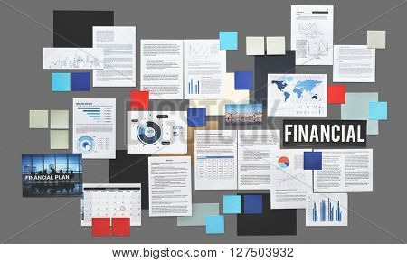 Financial Accounting Balance Banking Loan Concept