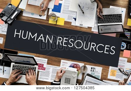Human Resources Jobs Recruitment Profession Concept
