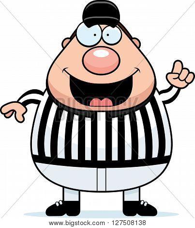 Referee Making Call