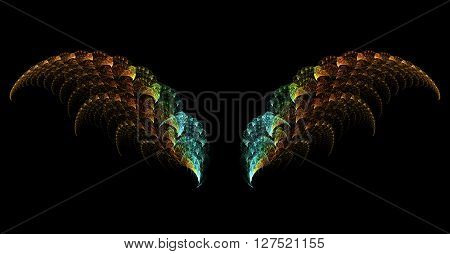 Abstract Surreal Wings