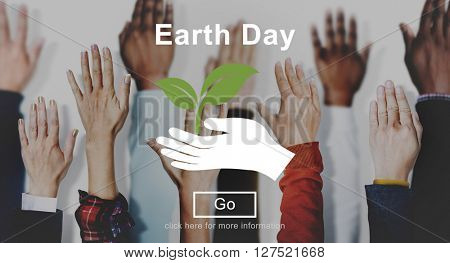 Earth Day Environmental Conservation Nature Planet Concept