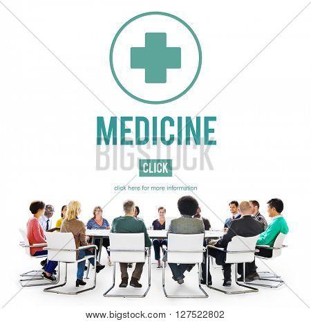 Medicine Medication Diagnosis Symptoms Illness Disorder Concept