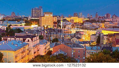Kiev City Center. Ukraine