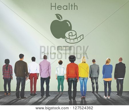 Health Healthy Active Exercise Medical Nutrition Concept