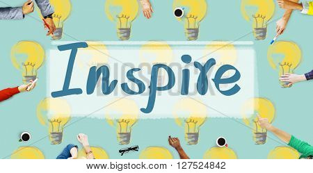 Inspire Aspirations Goal Imagination Innovation Concept