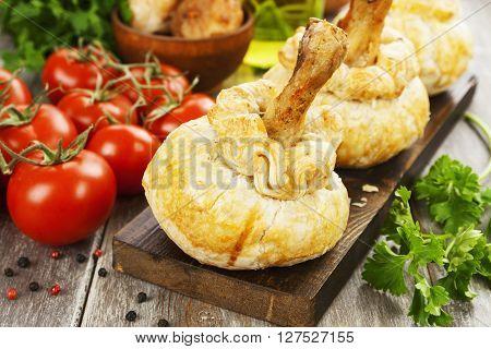 Chicken Leg In Puff Pastry