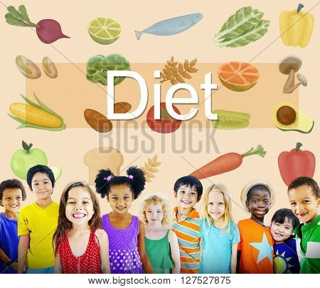 Diet Choice Eating Healthy Nutrition Obesity Concept
