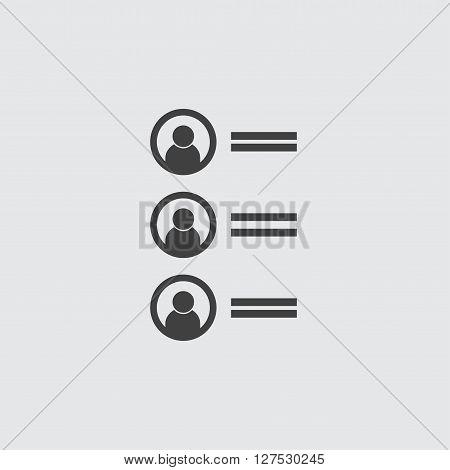 Ranking icon illustration isolated vector sign symbol