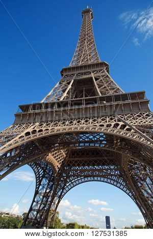 Eiffel tower - one the main symbols of Paris