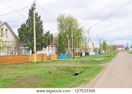 Village Street General View