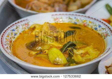 Green Curry Chicken In Coconut Milk