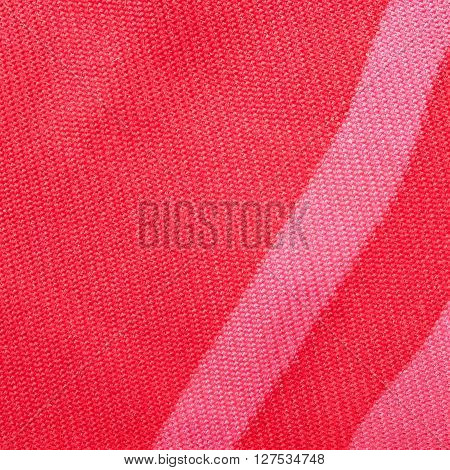 Square Background - Red Silk Textile