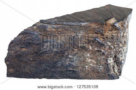 Piece Of Raw Jet (lignite, Brown Coal) Gemstone