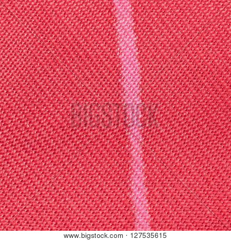 Square Textile Background - Red Silk Fabric