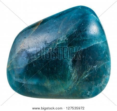 Tumbled Blue Green Apatite Gemstone From Brazil