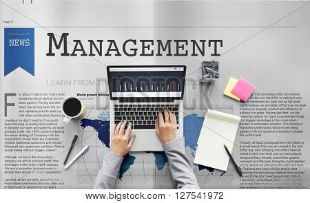 Management Strategy Organization Coaching Concept