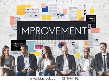 Improvement Motivation Change Better Upgrade Concept