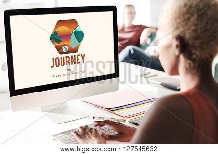 Journey Trip Vacation Holiday Concept