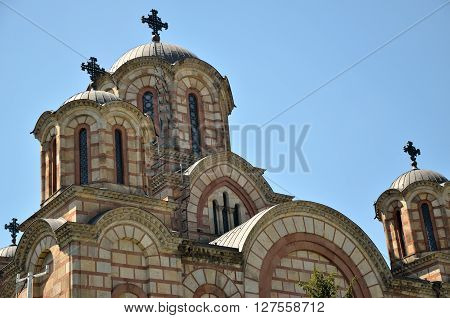 Orthodox Church With Domes