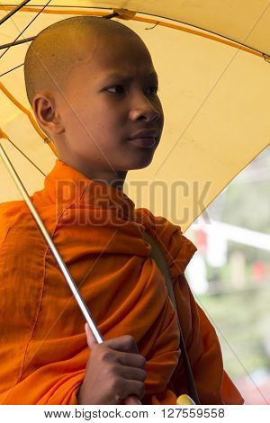 Unidentified Buddhist Monk