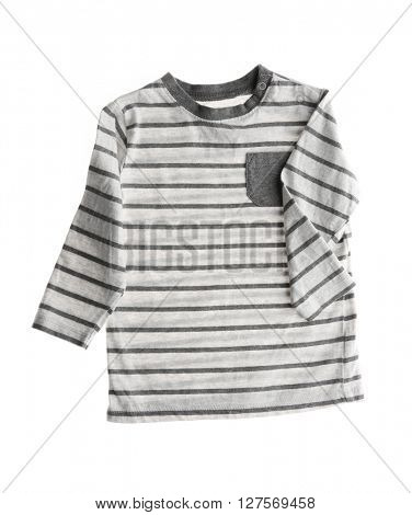 Striped jumper, isolated on white