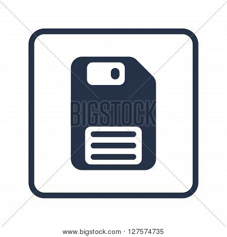 Floppy Disc Icon In Vector Format. Premium Quality Floppy Disc Symbol. Web Graphic Floppy Disc Sign