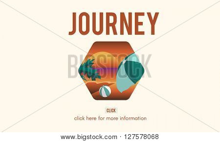 Journey Trip Holiday Graphic Concept