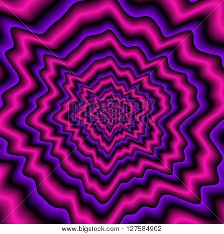 Violet Expanding Pattern