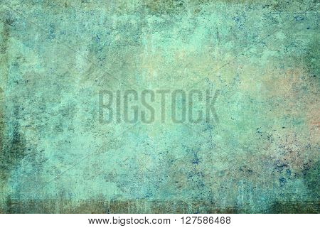 highly Detailed grunge background with space