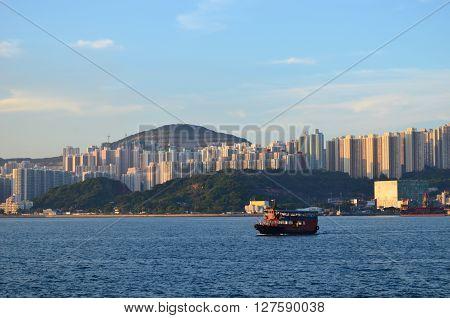 Yau Tong kwun tong at Hong Kong