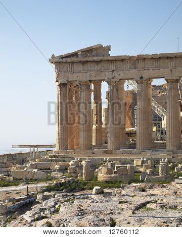 Parthenon temple Acropolis
